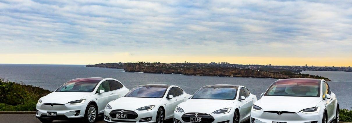 Luxury Corporate Tesla Transport Sydney