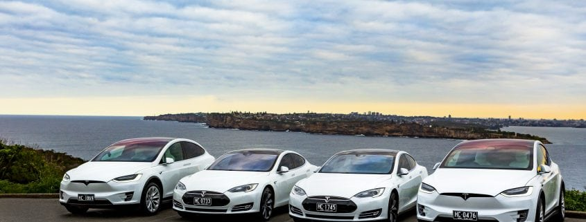 Luxury Corporate Tesla Transport Sydney